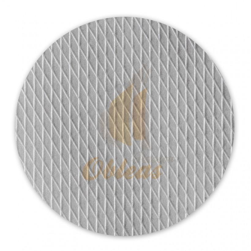 White Circular Wafer
