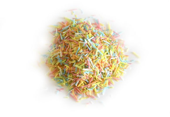 Wafer Multicolored Noodle