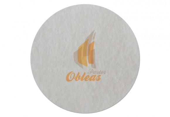 Etiqueta Redonda de Oblea