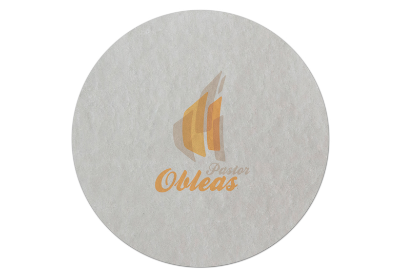 Wafer Circular Label