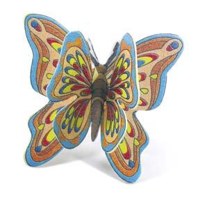 Mariposas 3D de Oblea