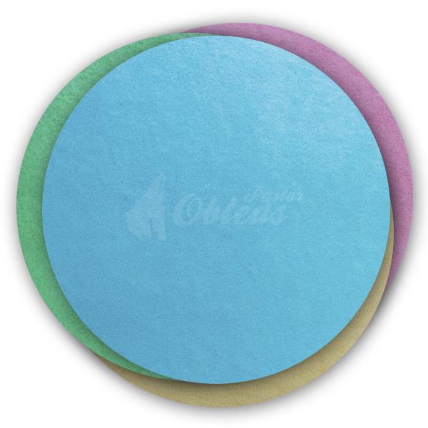 Circular wafer Color