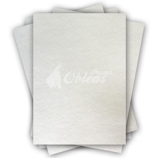 White Rectangular Smooth Wafer